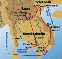 Vietnamkrieg Karte.Die Indochinareise 1 Vietnam