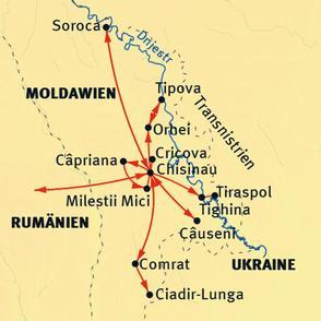 liegt moldawien in rumänien